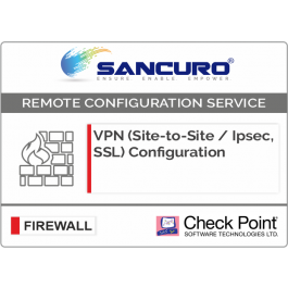 VPN (Site-to-Site / IPsec, SSL) Configuration in Check Point Firewall For  Model Series 5100, 5200