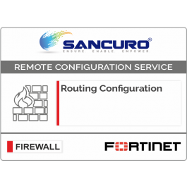 Routing Configuration in FORTINET Firewall For Model 600D, 800D, 900D, 500E