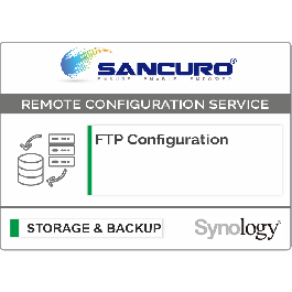 FTP Configuration For Synology Storage For Model Value Series