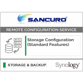 Synology Storage Configuration (Standard Features)