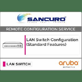 Aruba L3 LAN Switch Configuration (Standard Features) For Model Series 2930M