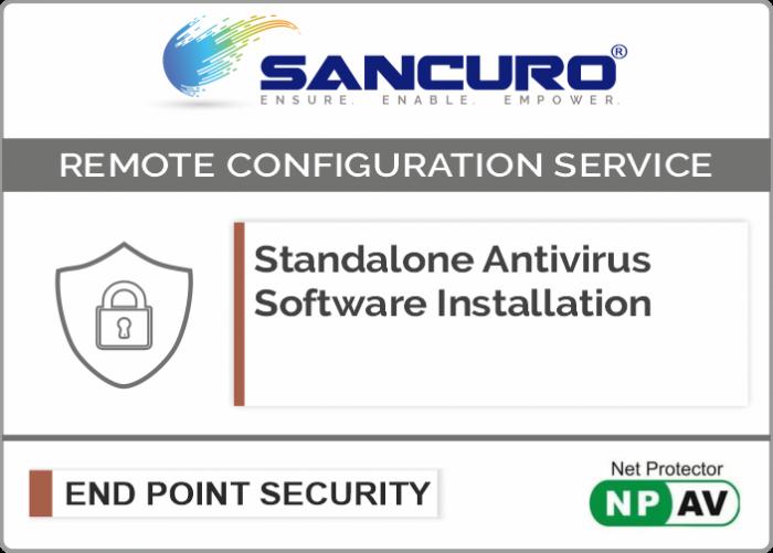 Net Protector Standalone Antivirus Software Installation