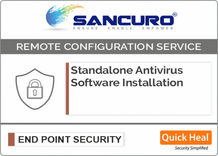 Quick Heal Standalone Antivirus Software Installation