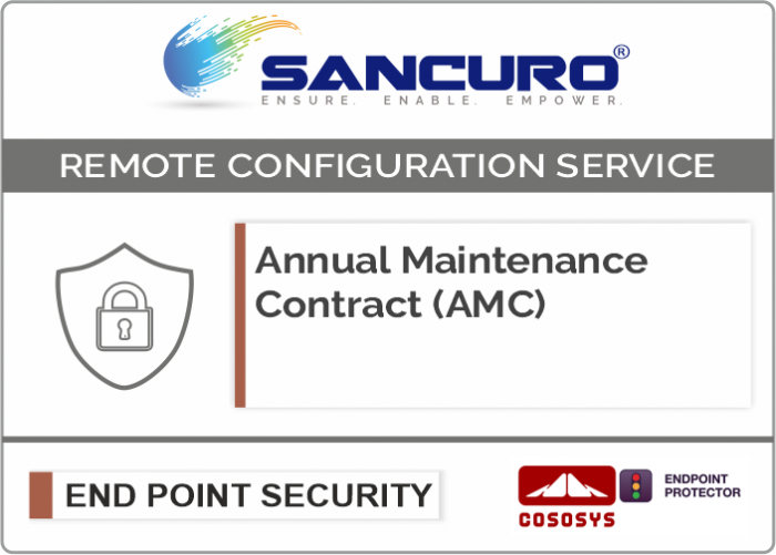 Annual Maintenance Contract (AMC) For CoSoSys  Data Loss Prevention / Protection (DLP)