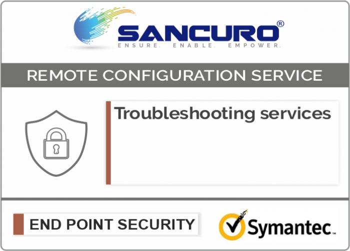 Symantec Data Loss Prevention / Protection (DLP)  Troubleshooting services