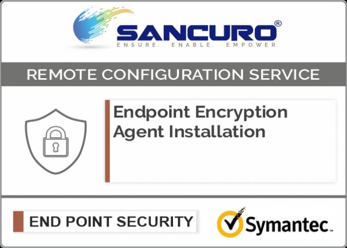 Symantec Endpoint Encryption Agent Installation