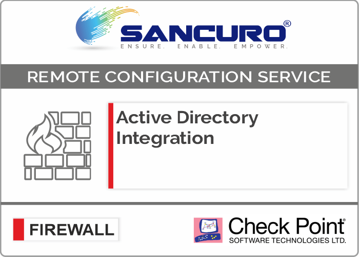 Active Directory Integration for Check Point Firewall For Model Series 1400,3000
