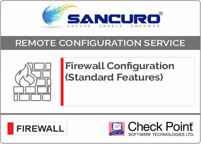 Check Point Firewall Configuration (Standard Features)