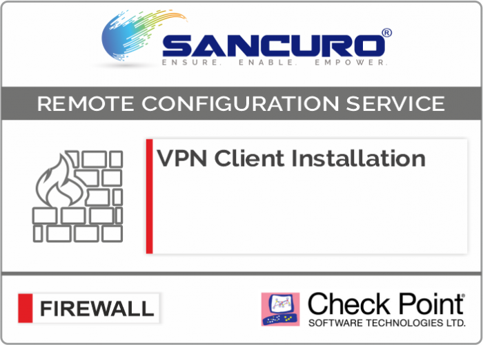 Check Point VPN Client Installation For Model Series 5100, 5200