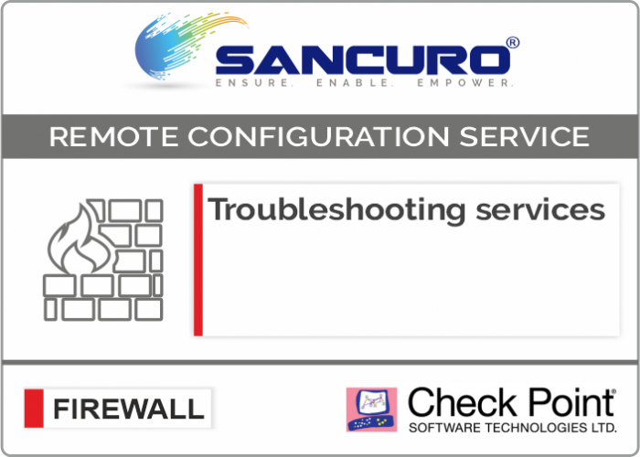 Check Point Firewall Troubleshooting services For Model Series 1400,3000