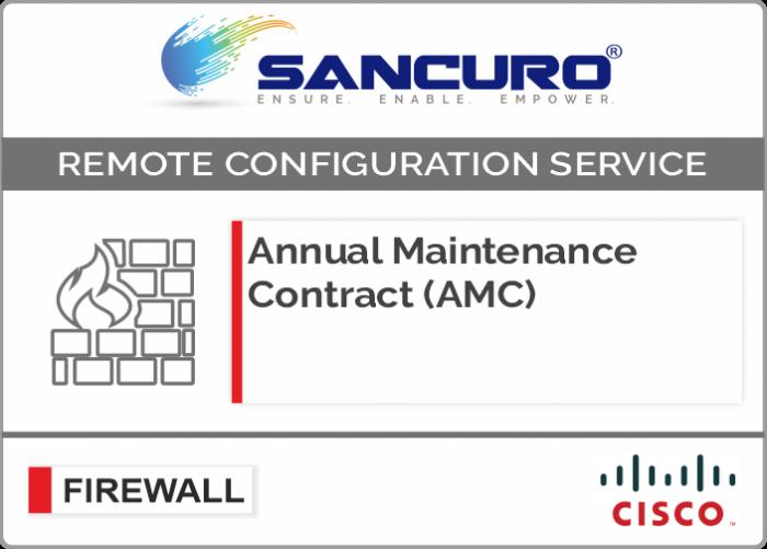 Annual Maintenance Contract (AMC) For CISCO Firewall For Model Series ASA 5520, ASA 5525