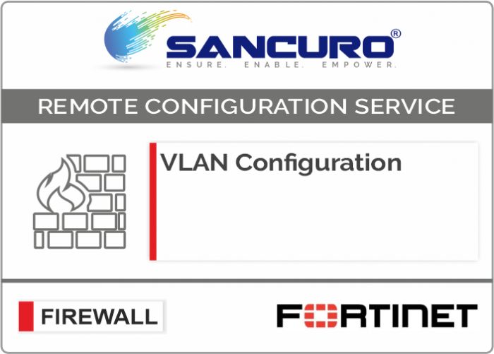 VLAN Configuration in FORTINET Firewall For Model 50E, 60E, 80E, 90E