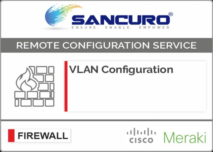 VLAN Configuration in MERAKI Firewall For Model Series MX200, MX400