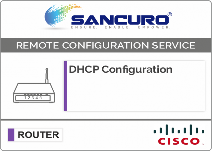 DHCP Configuration For CISCO Router For Model Series C841, 880, 890, C1900