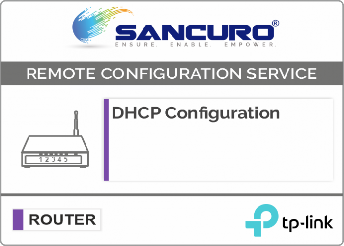 DHCP Configuration For TP-Link Router