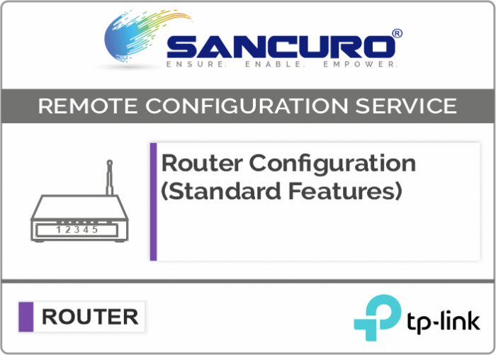 TP-Link Router Configuration (Standard Features)