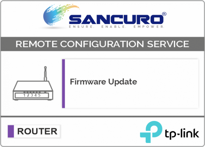 Firmware Update for TP-Link Router