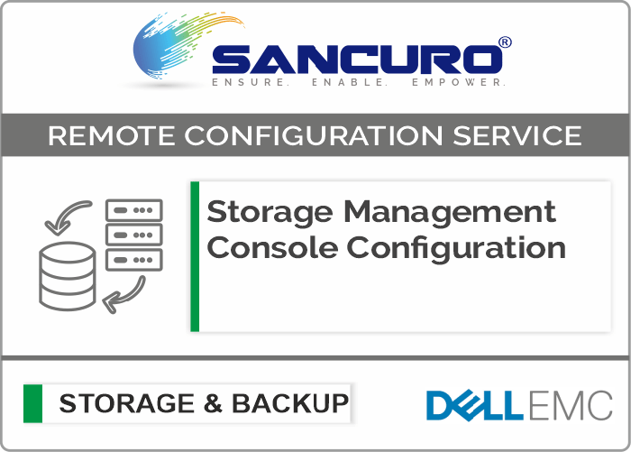 Dell EMC Storage Management Console Configuration For Model Series VNXe, PowerVault MD, Unity