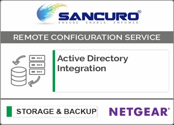 Active Directory Integration for NETGEAR Storage