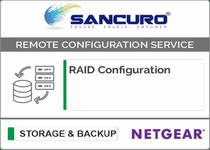RAID Configuration For NETGEAR Storage