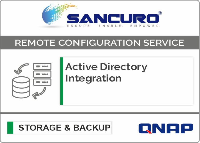 Active Directory Integration for QNAP Storage For Model Enterprise Series