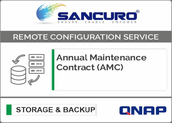 Annual Maintenance Contract (AMC) For QNAP Storage For Model Enterprise Series