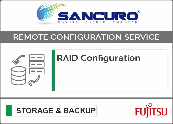 RAID Configuration For FUJITSU Storage ETERNUS DX60 S4 Hybrid System