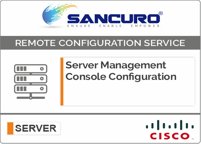CISCO Server Management Console Configuration