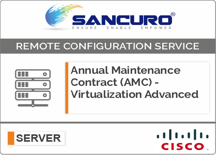 Annual Maintenance Contract (AMC) For Comprehensive Virtualization Services For Cisco Server