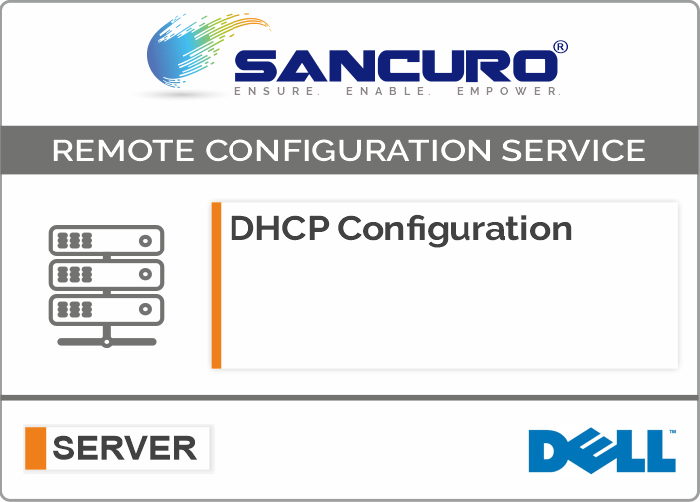 DHCP Configuration For DELL Server