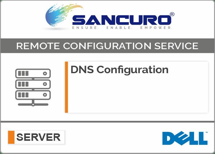 DNS Configuration For DELL Server