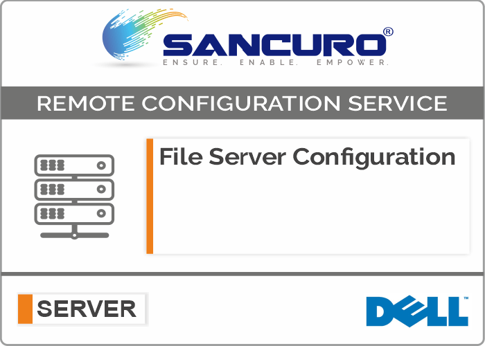 File Server Configuration For DELL Server