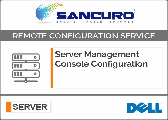 DELL Server Management Console Configuration