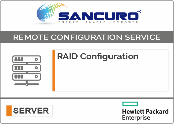 RAID Configuration For HPE Server