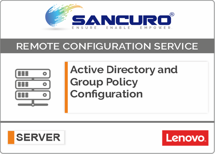 Active Directory and Group Policy Configuration For LENOVO Server