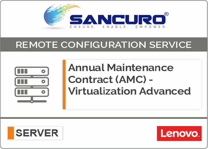 Annual Maintenance Contract (AMC) For Comprehensive Virtualization Services For LENOVO Server