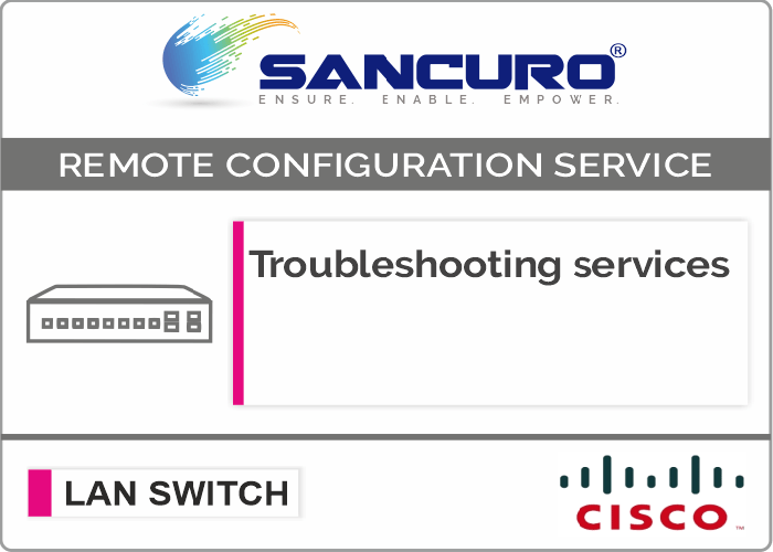 CISCO L2 LAN Switch Troubleshooting services For Model Series C3650