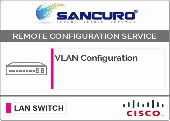 VLAN Configuration in CISCO L3 LAN Switch For Model Series SF300, SG300, SF350, SG350
