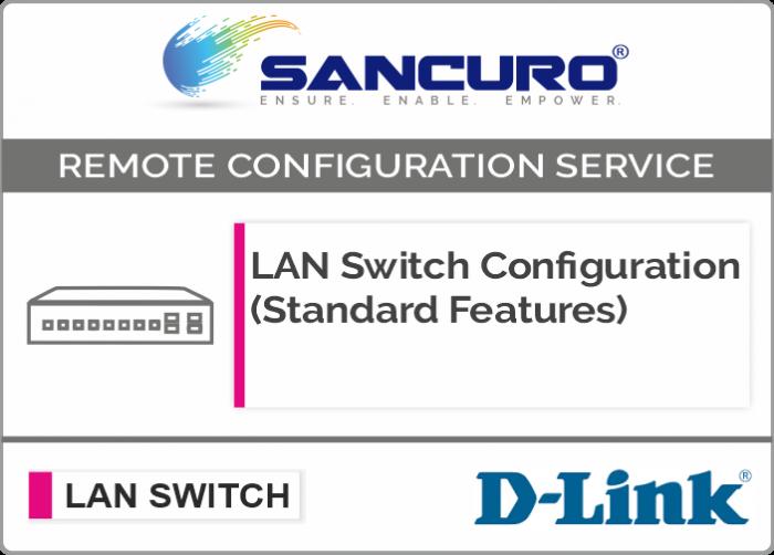 D-LINK L3  LAN Switch Configuration (Standard Features)