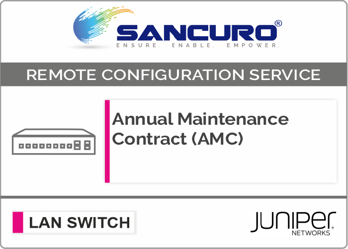 Annual Maintenance Contract (AMC) for JUNIPER L3 LAN Switch For Model EX9200