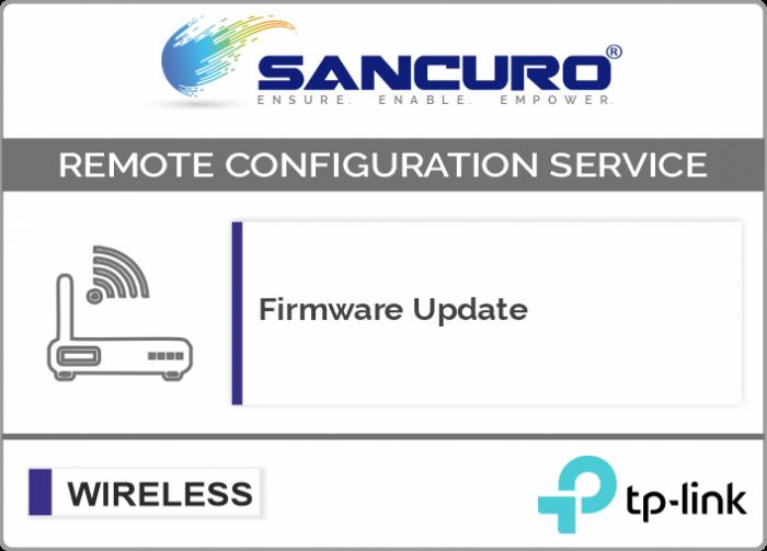 Firmware Update for TP-Link Autonomous Wireless Access Point