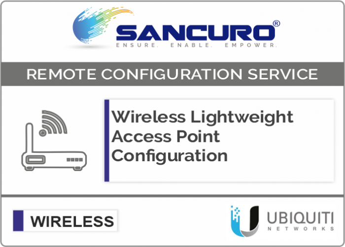 UBIQUITI Lightweight Wireless Access Point Configuration