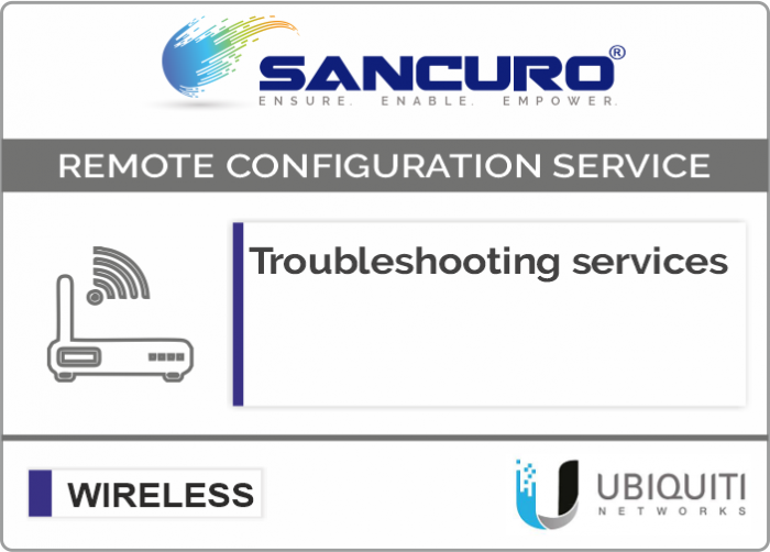 Troubleshooting services For UBIQUITI Lightweight Access Point