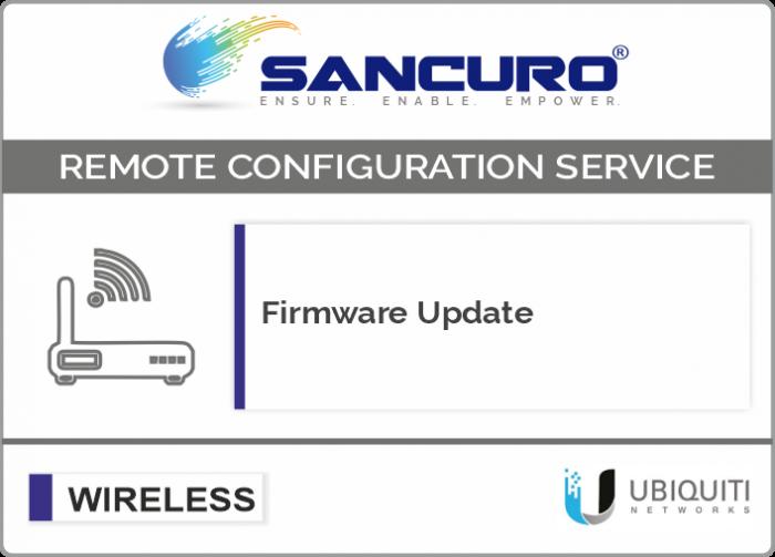 Firmware Update for UBIQUITI Lightweight Wireless Access Point