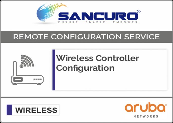 Aruba Wireless Controller Configuration