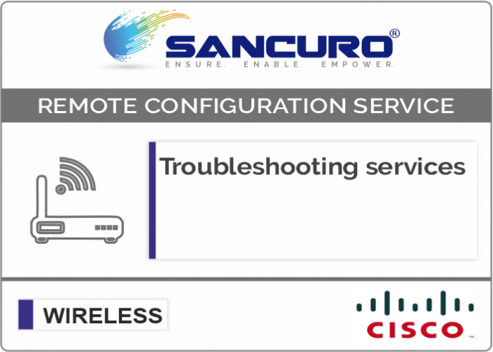 Troubleshooting services For CISCO Wireless Controller