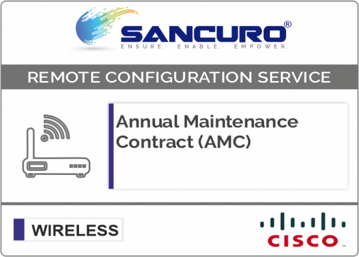 Annual Maintenance Contract (AMC) For CISCO  Wireless Controller