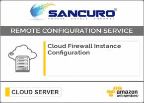 AWS Cloud Firewall Instance Configuration