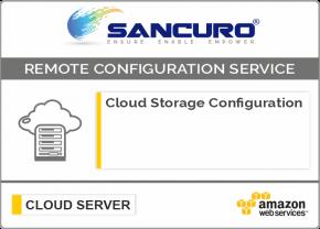 AWS Cloud Storage Configuration