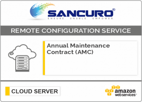 Annual Maintenance Contract (AMC) For AWS Cloud Server Configuration